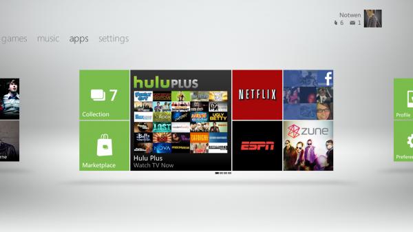 Xbox Live apps