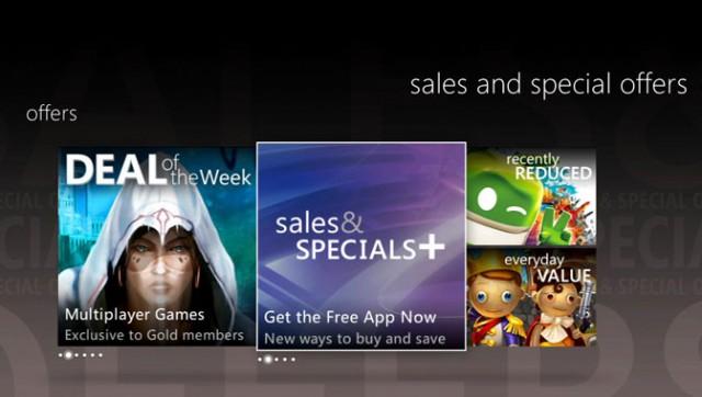 sales & specials app
