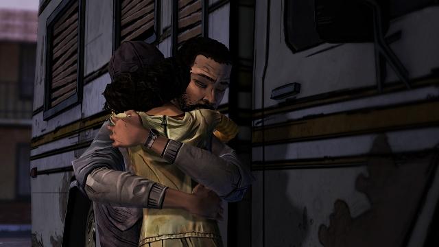 The Walking Dead Hug