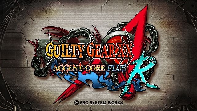 Guilty Gear Accent Core XBLA
