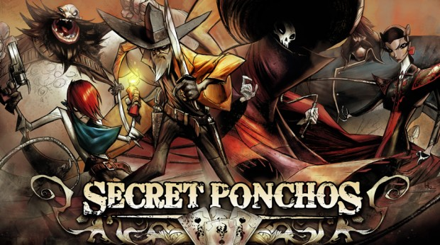 Secret Ponchos title art