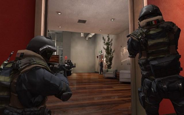 Takedown Doorway Shot