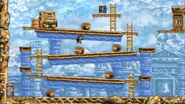 Braid Donkey Kong