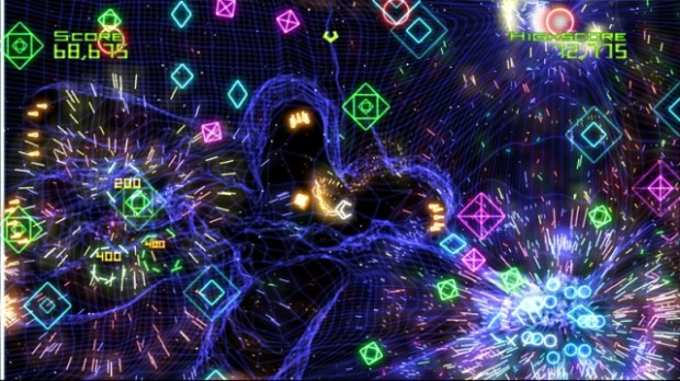 Geometry Wars Retro Evolved Explosions