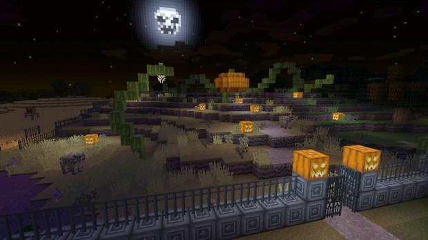 Minecraft Halloween Texture Pack