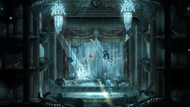 Child of Light Sun Palace Entrance Hall