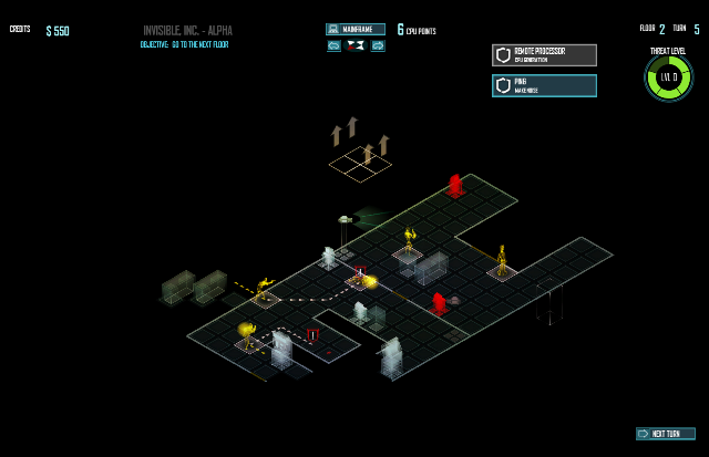 Invisible Inc. Mainframe Mode