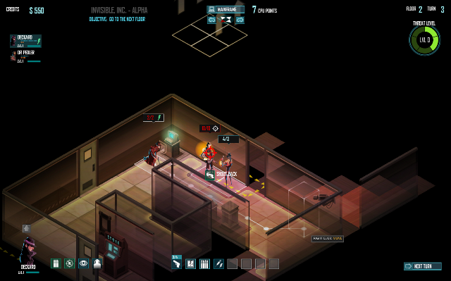 Invisible Inc. Shooting Guards