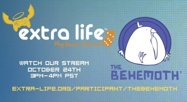 The Behemoth Game 4 stream for Extra Life