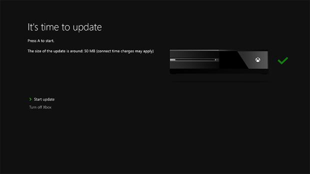 xbox one update