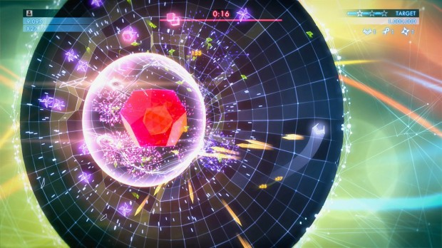 Geometry Wars 3 Opal Boss