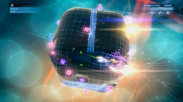 Geometry Wars 3 Cube Screenshot