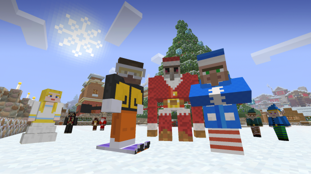 Minecraft Festive Mash-Up Pack