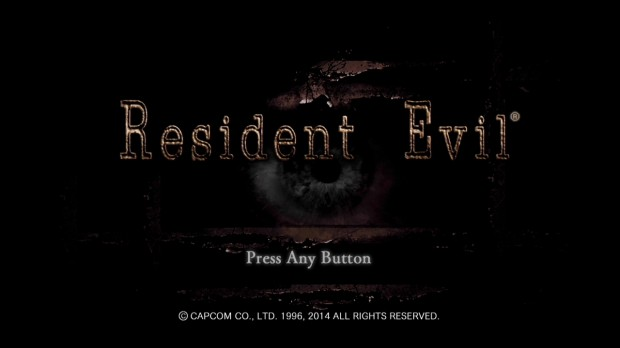 Resident Evil Title Screen