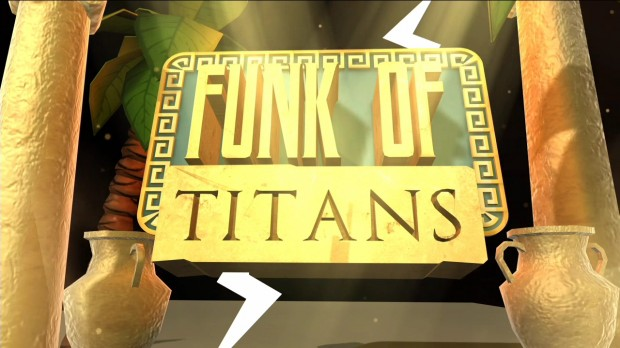 Funk of Titans start screen