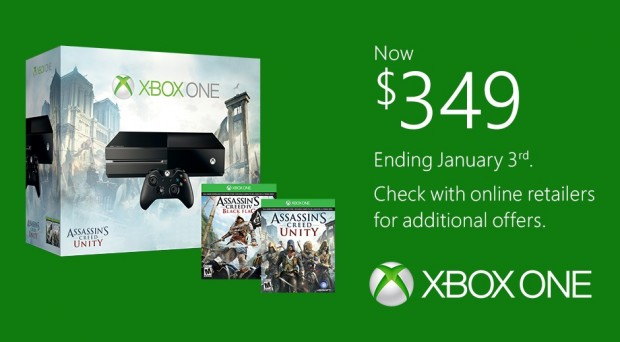 xbox one price cut end