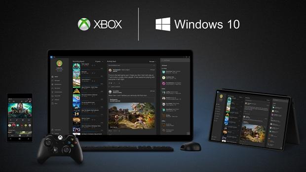 xbox and windows 10