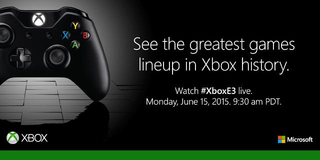 Microsoft E3 2015 Media Briefing