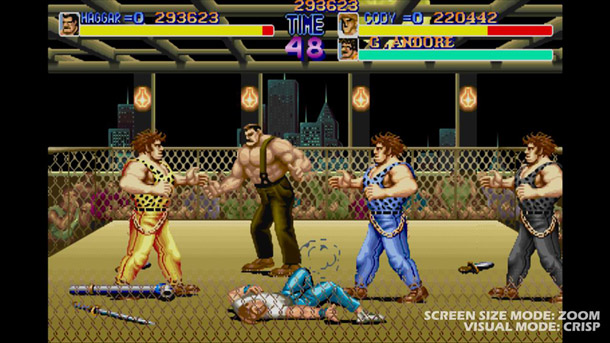 Final Fight: Double Impact piledrives onto consoles