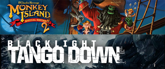 Monkey Island 2 and Blacklight: Tango Down – Out Today!