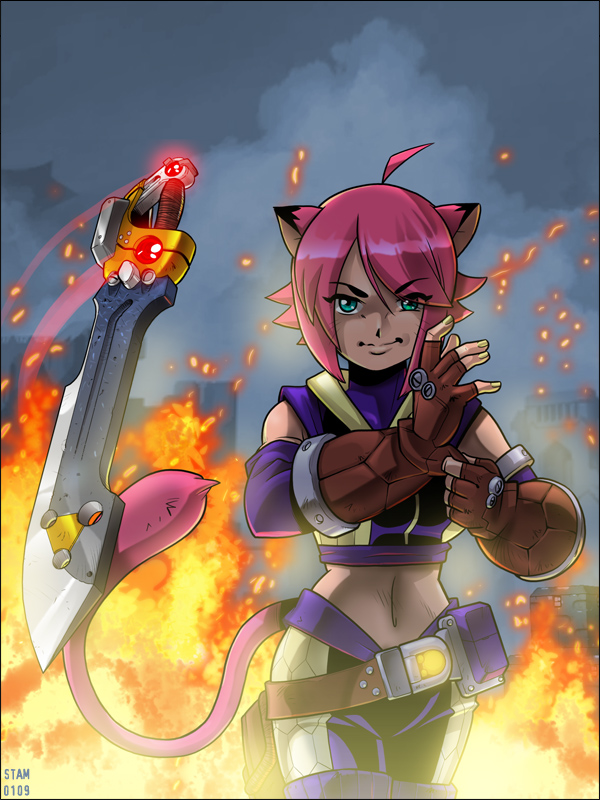 New Blade Kitten Trailer Gives XBLA Another Peek at Old School 2D Action