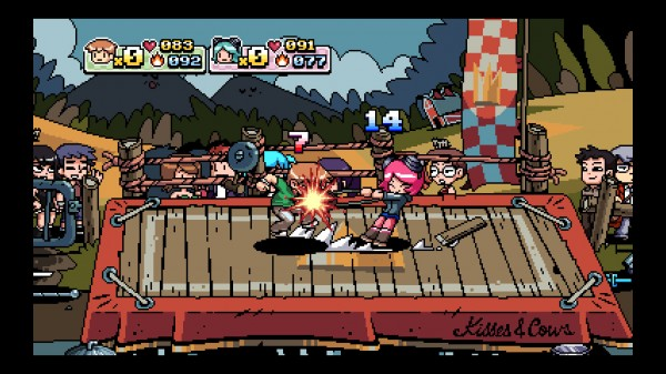 Scott Pilgrim DLC This November; New Character, Modes, and a Patch