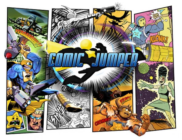 Comic Jumper Review (XBLA)