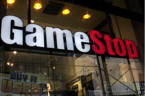 Gamestop's new online storefront.