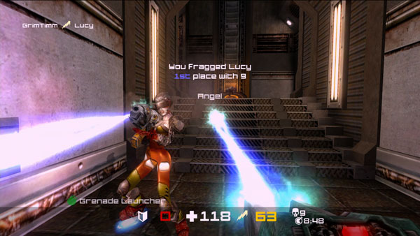 Quake Arena Arcade Review (XBLA)