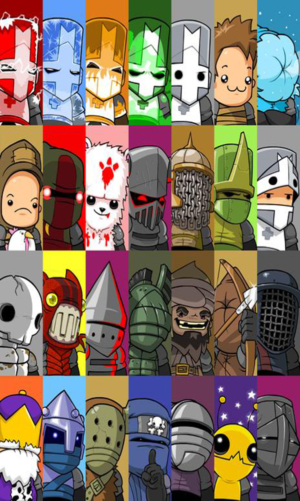 Castle Crashers Character Guide