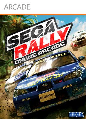 Sega Rally Online Arcade GDC 2011 Footage