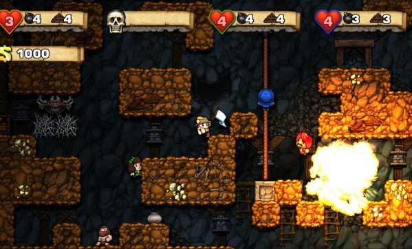 XBLA port of Spelunky to have multiplayer