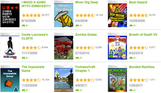 Microsoft adds new measure to indie game ratings