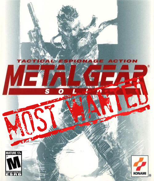 XBLA's Most Wanted: Metal Gear Solid
