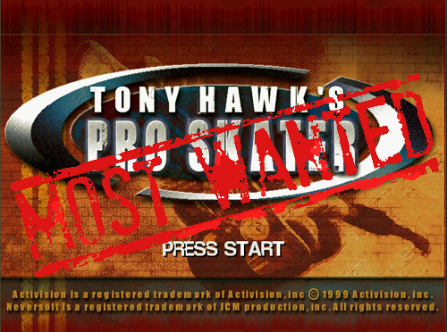 XBLA's Most Wanted: Tony Hawk's Pro Skater Arcade