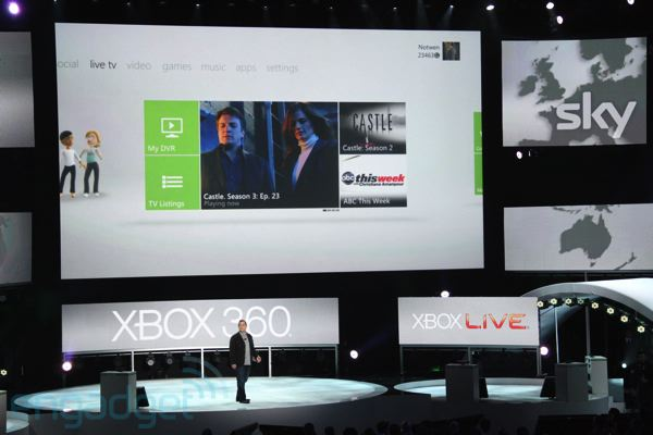 Live TV coming to Xbox dashboard