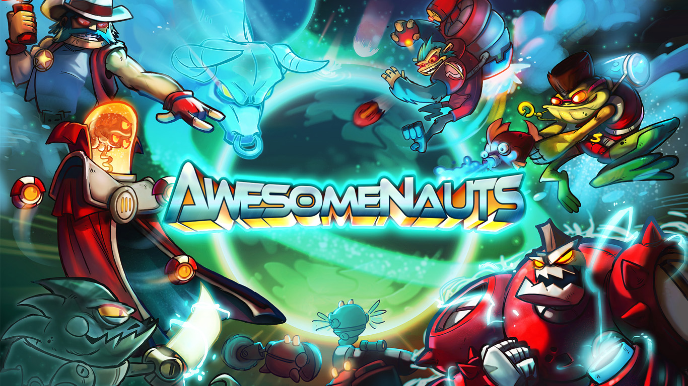 Awesomenauts screenshots and details are awesome