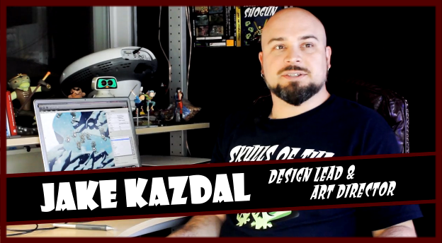 Jake Kazdal talks about Skulls of Shogun