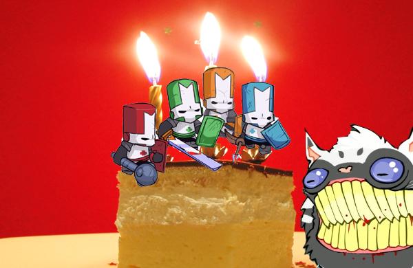 Happy third birthday Castle Crashers!