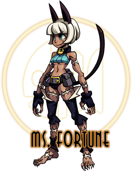 Skullgirls sneaks fifth character, Ms. Fortune, onto home site