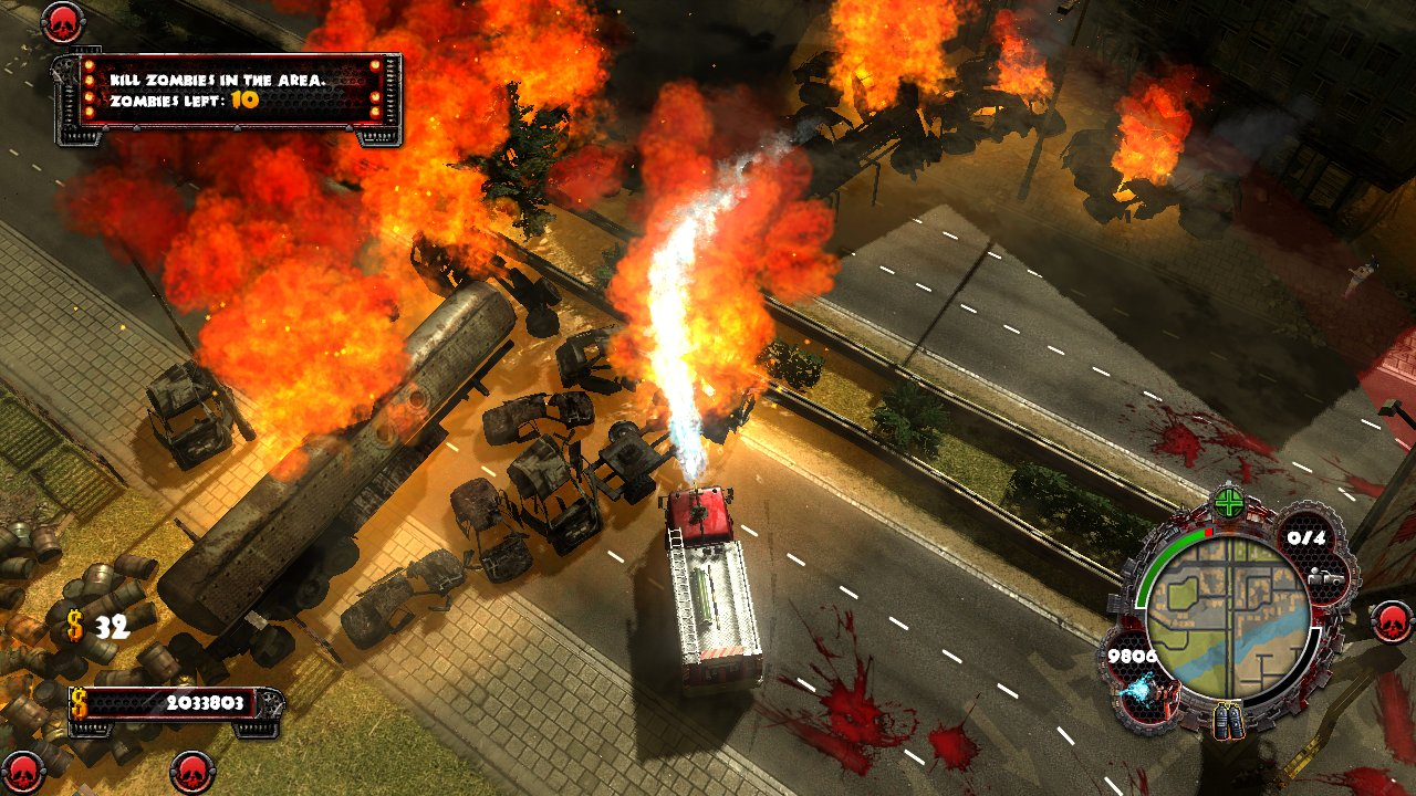Zombie Driver HD plowing through to XBLA