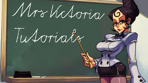 Get an A+ in Skullgirls with Mrs Victoria