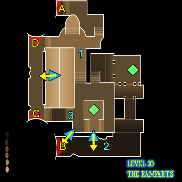 Dungeon Defenders Ramparts (level 10) guide