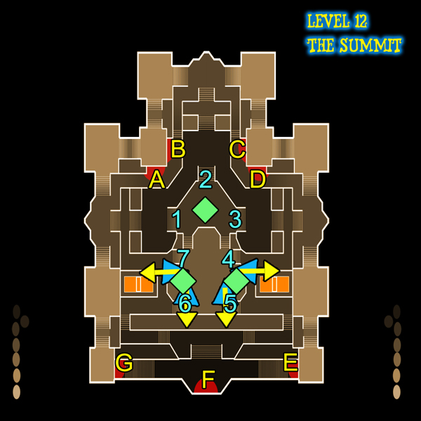 Dungeon Defenders The Summit (level 12) guide