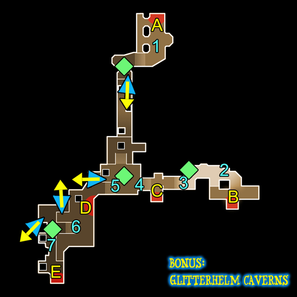 Dungeon Defenders Bonus: Glitterhelm Caverns (level 13) guide