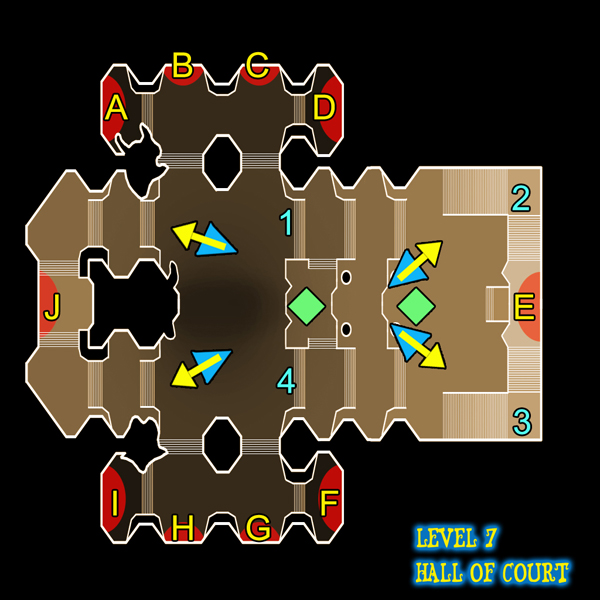 Dungeon Defenders Hall of Court (level 7) guide