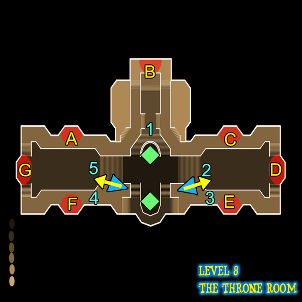 Dungeon Defenders Throne Room (level 8) guide