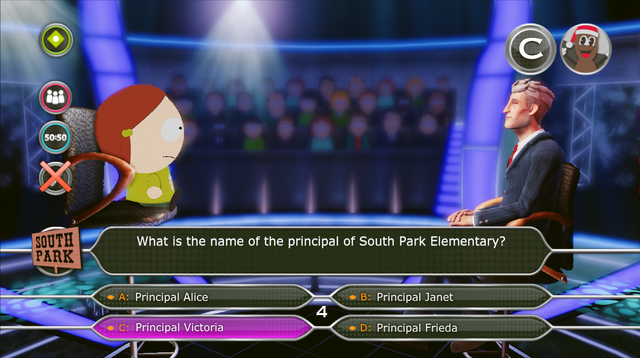 South Park: Who Wants to be a Millionaire coming later this year