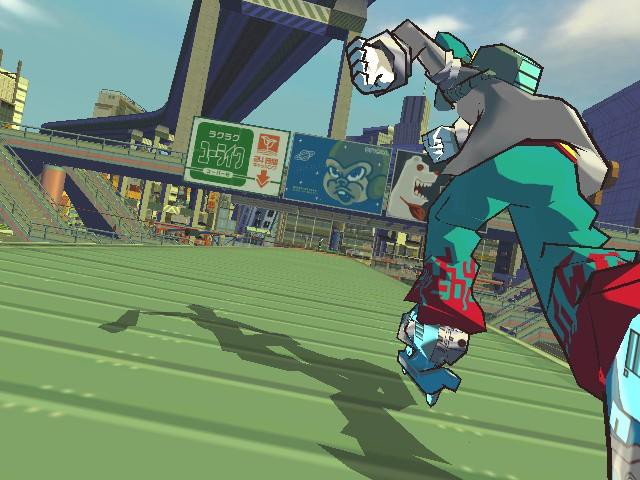 Half of original Jet Set Radio soundtrack retained in HD transition