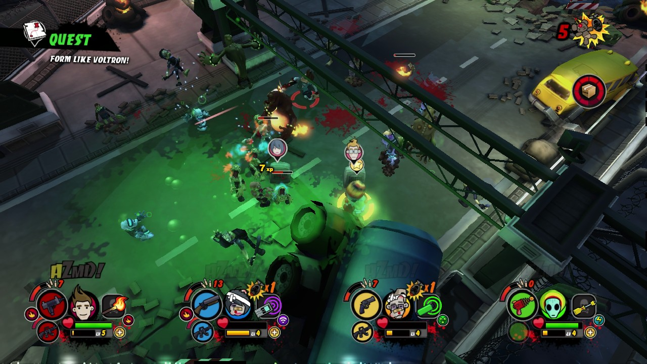 The release date for All Zombies Must Die! is so close it could bite you